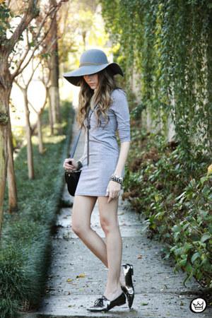 silver romwe dress