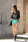 Chartreuse-mac-stile-skirt