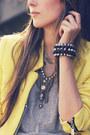 Light-yellow-romwe-jacket-purple-juliana-silveira-skirt