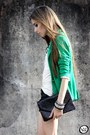 Zara-blazer-tally-weijl-shorts-janelle-necklace
