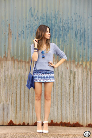 periwinkle Gap jumper