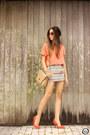 Orange-dafiti-shirt