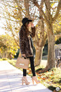 Dark-brown-choies-coat-black-romwe-leggings
