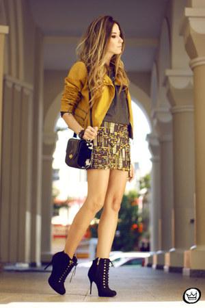 mustard Dafiti jacket