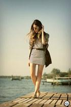 white blackfive dress