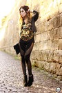 Black-labellamafia-leggings-black-ohkei-t-shirt