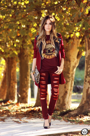 ruby red Displicent pants