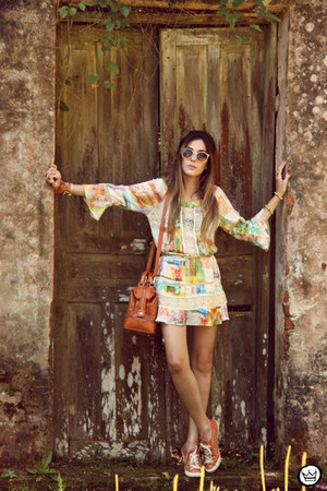 cream MondaBelle dress