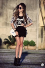 Black-spiked-iclothing-boots-black-striped-charry-blazer-black-myah-t-shirt