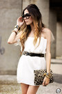 White-displicent-dress