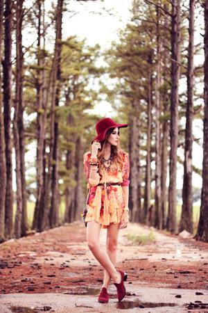 light orange Moikana dress