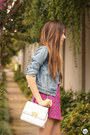 Sky-blue-levis-jacket-white-dafiti-bag-bubble-gum-motel-rocks-skirt