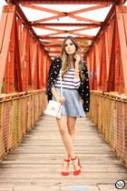 periwinkle MacStile skirt