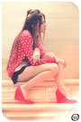 Red-angel-cardigan-red-angel-wedges