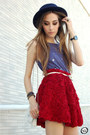 Romwe-cardigan-wildfox-t-shirt-chicwish-skirt