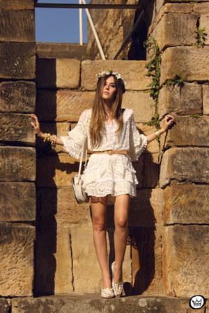 white MondaBelle dress