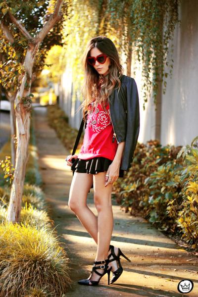 red Dafiti t-shirt