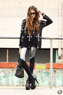 Black-black-milk-leggings-black-romwe-jumper-black-kafé-acessórios-bracelet