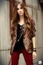 Brown-romwe-blazer-ruby-red-marisa-pants
