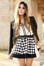 Ivory-awwdore-top-black-iclothing-skirt
