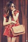 Tawny-vish-vest-tan-bruna-starling-bag-tawny-vish-skirt