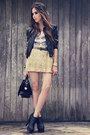 Black-romwe-jacket-gold-sequins-romwe-skirt-white-margô-t-shirt