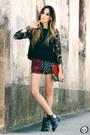 Black-miniminou-bag-black-shop-akira-shorts