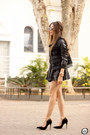 Black-amaro-jacket-black-goodnight-macaroon-shirt-black-amaro-skirt