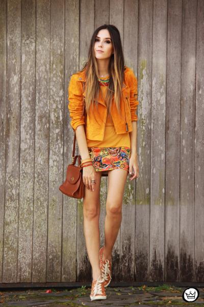 light orange Shop Thrift Market dress