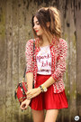 Red-dafiti-coat-white-dafiti-t-shirt-red-younghungryfree-skirt