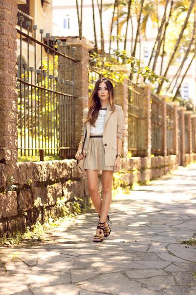 beige Amaro blazer