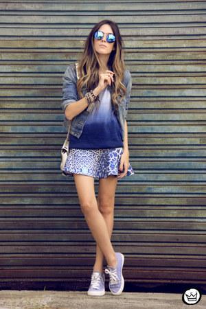 blue Displicent skirt