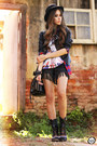 Black-displicent-t-shirt-black-choies-boots-ruby-red-romwe-shirt