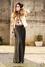 Gold-lança-perfume-jacket-black-my-philosophy-skirt