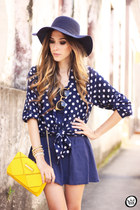 navy Dafiti dress