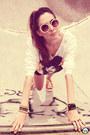 Tawny-studded-kafé-sneakers-black-kafé-bracelet-white-romwe-t-shirt