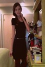 Black-nordstrom-dress-maroon-forever-21-tights-black-belt
