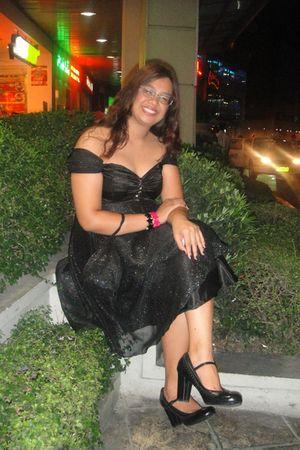 black costumized dress - black Aldo shoes - black Abbey Dawn by Avril Lavigne br