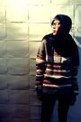 Gray-custom-made-by-wai-po-sweater