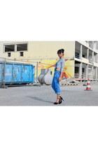 black Colin Stuart heels - Primark jumper - Vero Moda sweatshirt