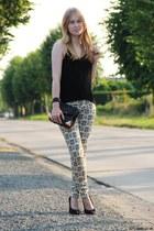 Zara jeans - black Alexander Wang bag