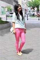 Primark bag - Bershka blouse - Zara flats - Forever 21 accessories