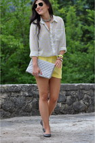H&M shorts - New Yorker blouse