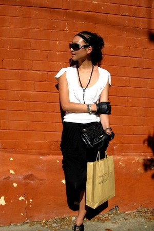 black Witchery pants - white Kookai top