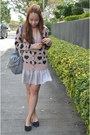 Silver-topshop-dress-heather-gray-h-m-bag-light-pink-hongkong-cardigan