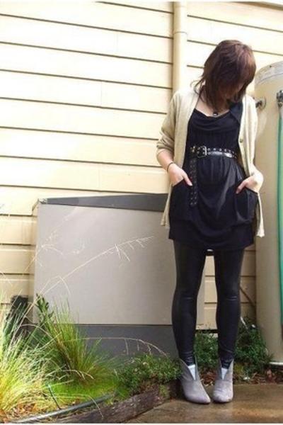 shoes - Secondhand jacket - Deborah K pants - cotton on dress