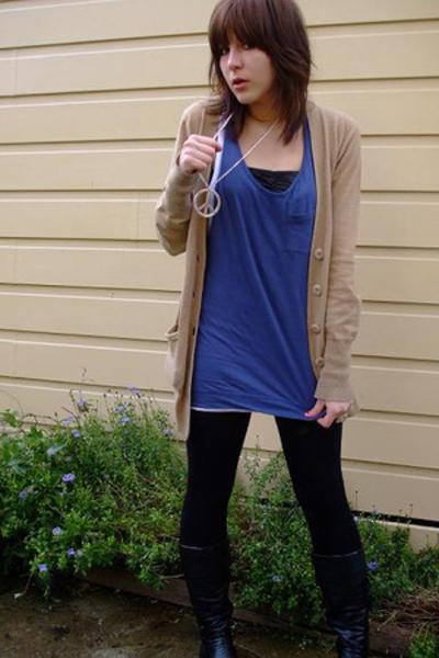 cotton on dress - Cotton On Body bra - Jay Jays necklace - Deborah K jacket
