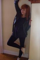 jacket - dress - pants - shoes