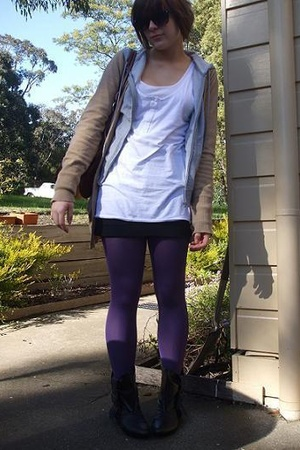 shoes - cotton on dress - cotton on tights - Target jacket
