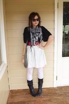Living Doll top - handmade skirt -  belt -  shoes
